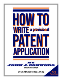 how to write provisional patent application ebook by john j connors
