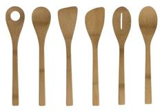 Give It A Rest Bamboo Kitchen Utensils