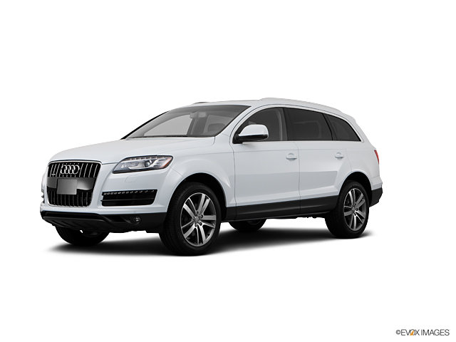 Burlingame White 2013 Audi Q7 Used Suv For Sale V19252a