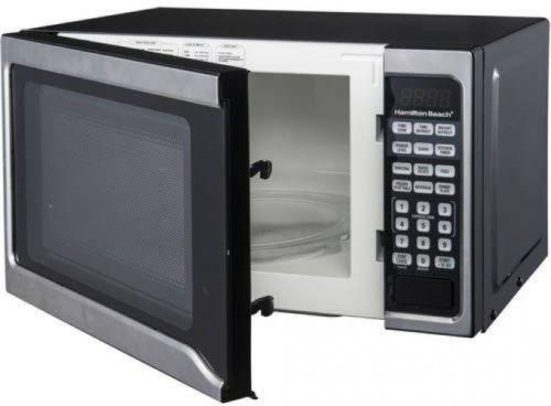 hamilton beach 0 7 cu ft 700w microwave stainless steel check back soon