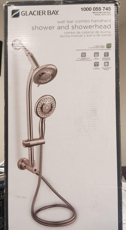 Glacier Bay 5 Spray Hand Shower Shower Head Combo Kit