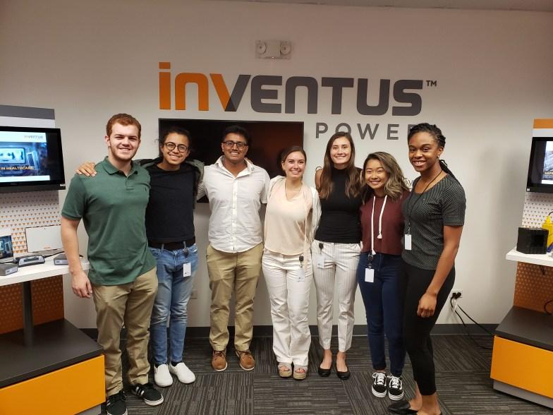 Inventus Power 2019 Interns