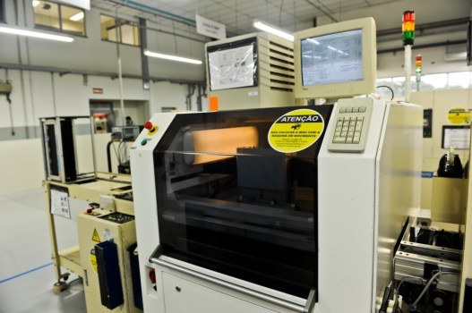 """Enclosed """"Clean-Air"""" SMT production performed in-house."""