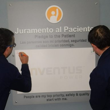 """Juramento al Paciente"" Pledge to the Patient signing in Tijuana, Mexico"