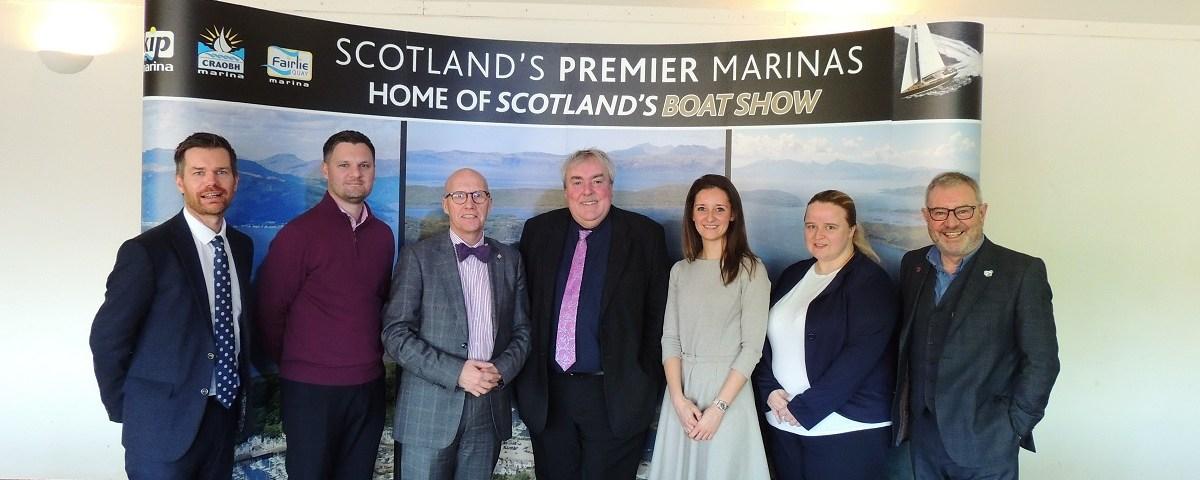 Visit Scotland CEO Malcolm Roughead with ICC Directors
