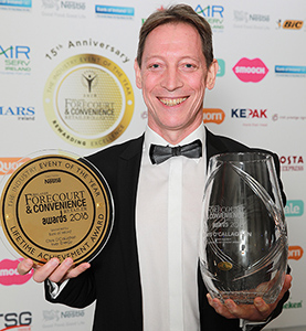 Chris O'Callaghan, Inver Energy, Lifetime Achievement Award 2018