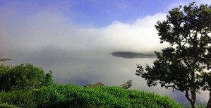 Inverness Bay, foggy