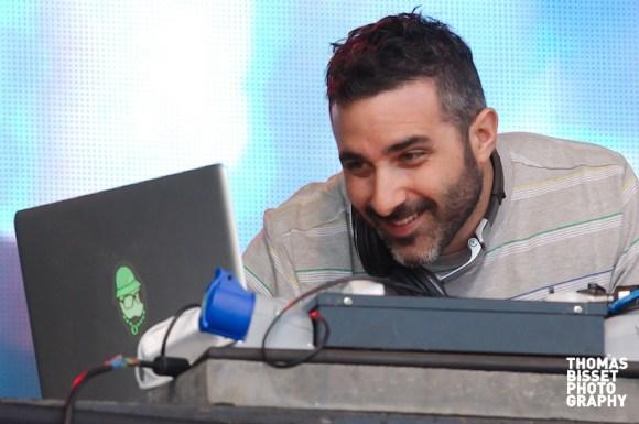 DJ Yoda performs at Rockness 2013