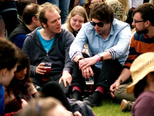 """""""It also has some of the friendliest, most polite festival goers that I have come across."""" - Frank Finlayson"""