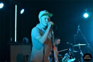 Ben 'Echo' Lightley at the Spectrum Centre earlier this month