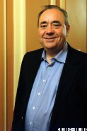 Alex Salmond Inverness Gigs were the only media oulet to catch a photo of the First minister on the night - A Night for Scotland: Vote Yes - Pictures