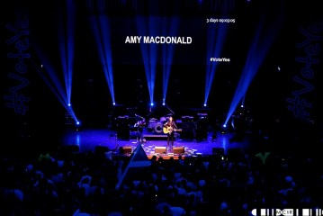 Amy MacDonald 3 - A Night for Scotland: Vote Yes - Pictures