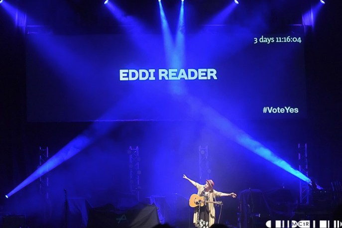 Eddi Reader 31 - A Night for Scotland: Vote Yes - Pictures