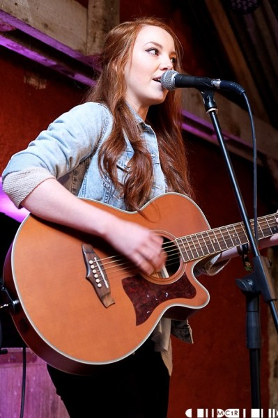 Hollie Atkinson played second at the Barn Stage