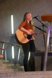 Kate Kyle at Holyrood Rocks Final 31/10/2015