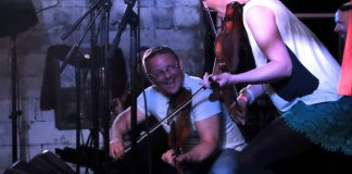 Blazin Fiddles at Brew at the Bog 2016