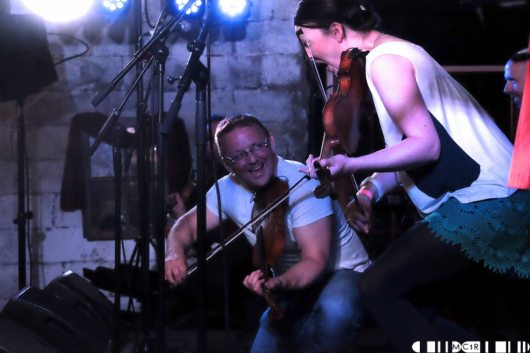 Blazin' Fiddles at Brew at the Bog 2016