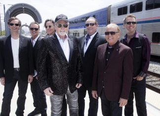 The Beach Boys play the Inverness Leisure Centre on May the 27th, 2017.
