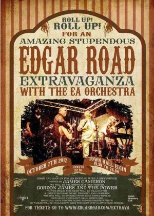 Edgar Road Extravaganza at Elgin Town Hall 7th Oct 2017.