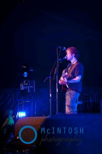 Ed Sheeran Belladrum, Inverness 2011 21