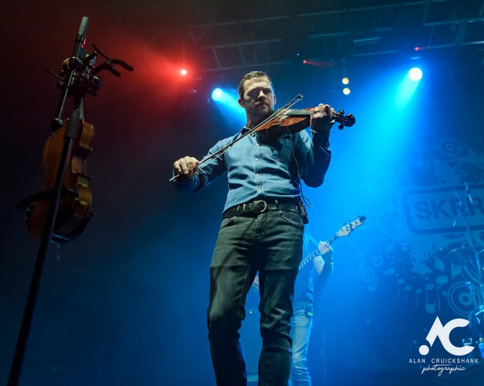 Skerryvore with City Of Inverness Pipe Band and Runrigs Iain Bayne December 2018 Ironworks Inverness November 2018 14 - Skerryvore, 7/12/2018 - Images