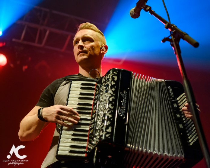 Skerryvore with City Of Inverness Pipe Band and Runrigs Iain Bayne December 2018 Ironworks Inverness November 2018 16 - Skerryvore, 7/12/2018 - Images