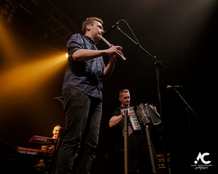 Skerryvore with City Of Inverness Pipe Band and Runrigs Iain Bayne December 2018 Ironworks Inverness November 2018 7a - Skerryvore, 7/12/2018 - Images
