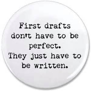Writing First Drafts