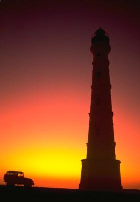California Lighthouse_ Beautiful Colors at Sunset