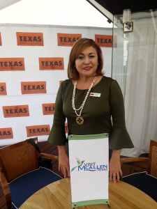 Silvia Garza Méndez, representante de Visit MCallen