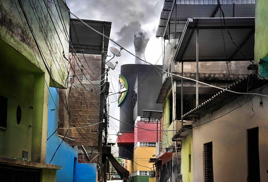 Favelas de Brasil se exhiben en el AICM a través de exposición fotográfica