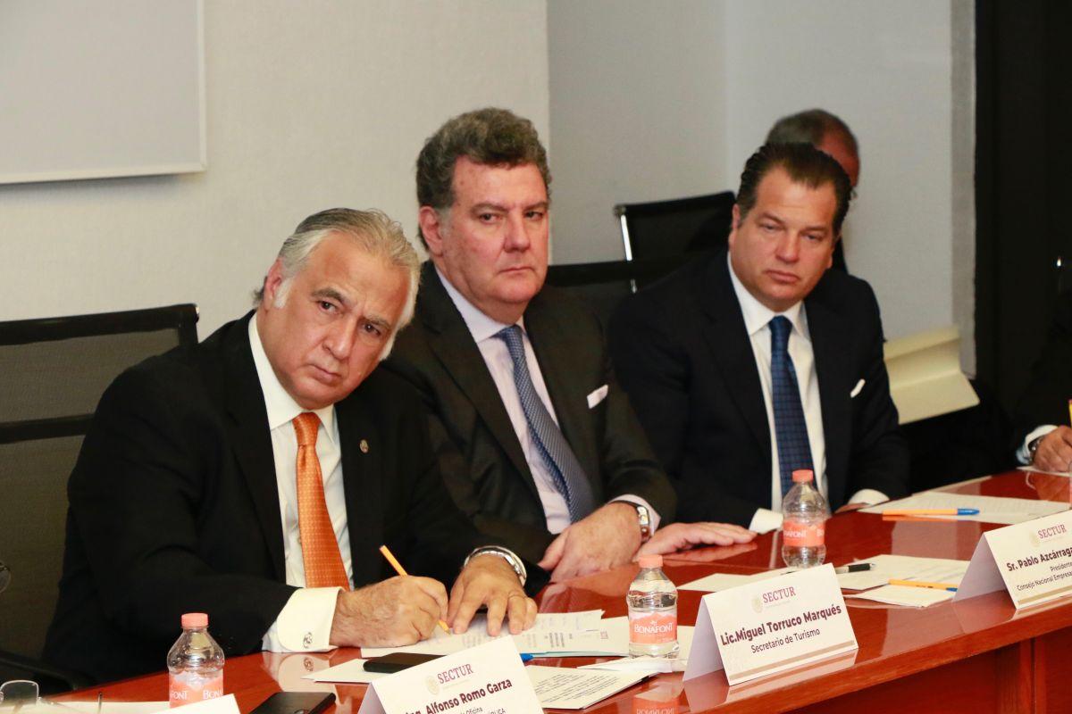 Pedirá el CNET a Presidencia dos mil mdp para promoción turística; acuerda con Torruco Marqués