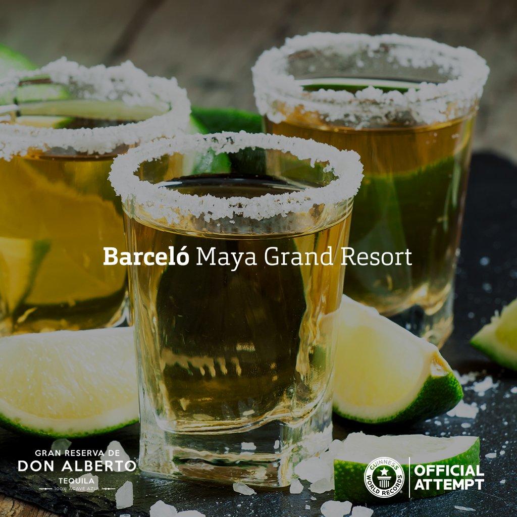 Barceló Maya Grand Resort organiza la cata de tequila más grande del mundo