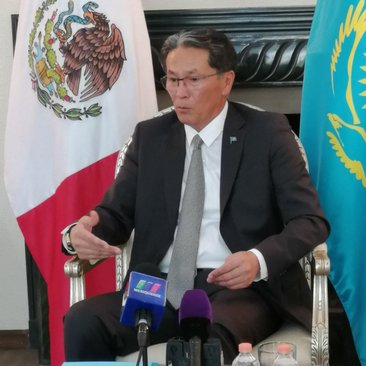 Kazajstán busca fortalecer lazos comerciales y turísticos con México