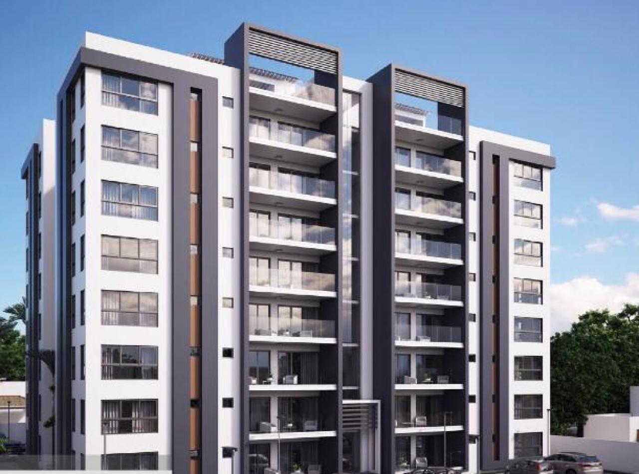 Residencial El Cedro, Apartamentos en la Urb. Thomen, Santiago