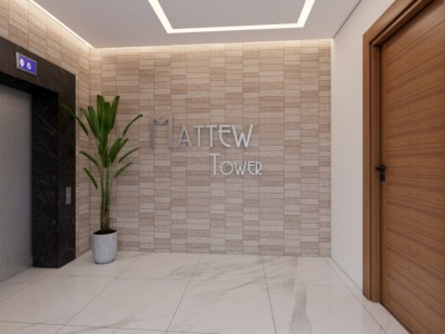 MATTEW Tower Hermoso Apartamentos en Villa Maria, Santiago