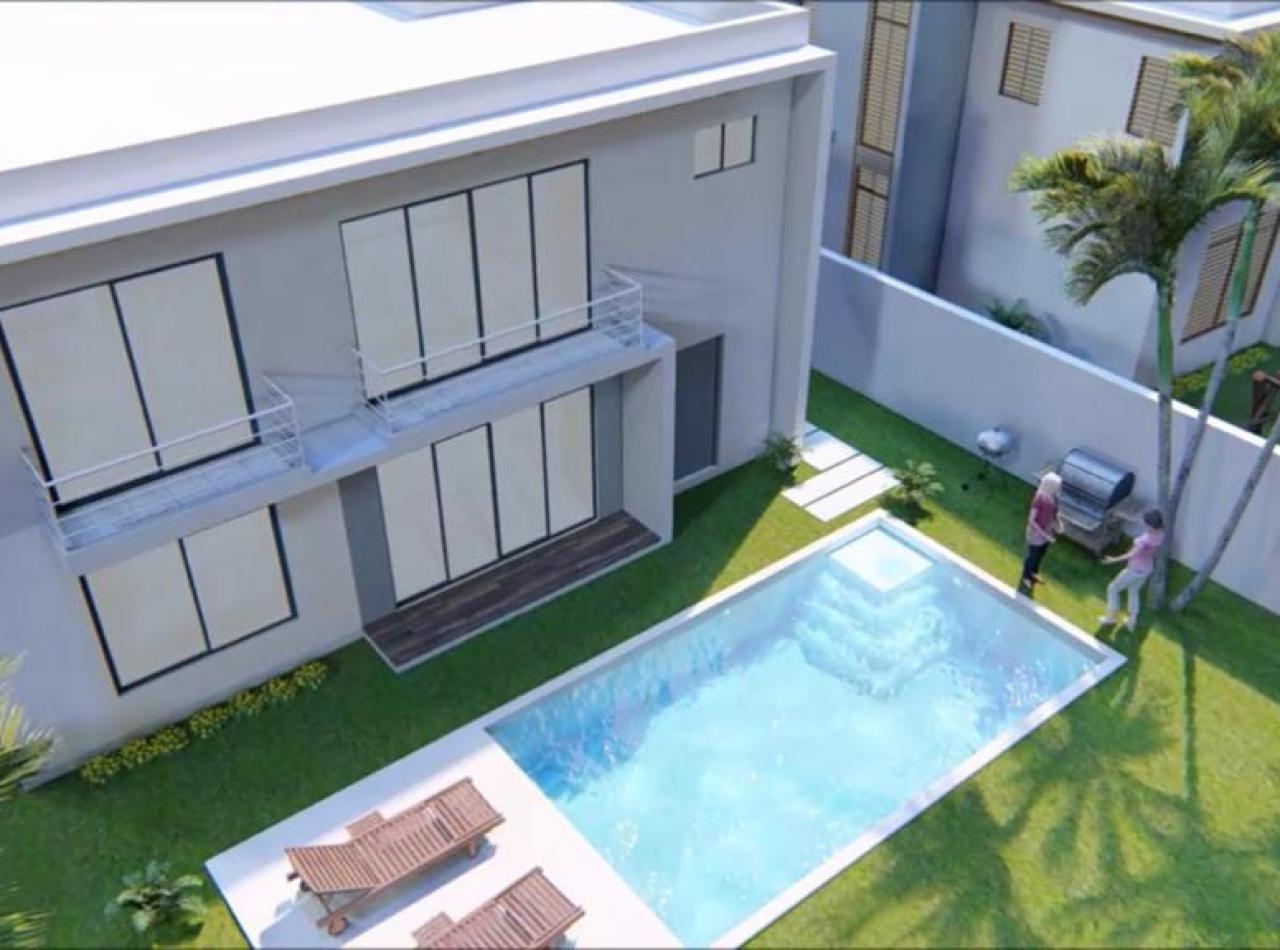 Nuevo Proyecto Cerrado de Casas en Residencial Israel, Santiago