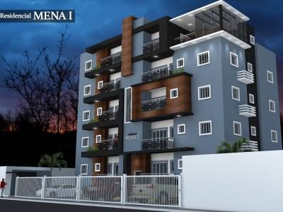 Residencial Mena I, Apartamentos en Venta con 3 Habitaciones