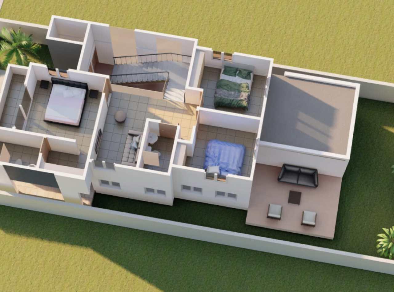Casa Moderna en Complejo Cerrado, Ave. 27 de Febrero