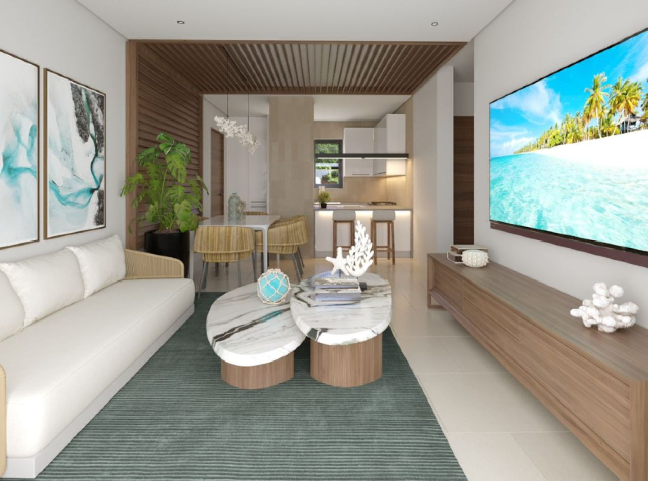 Punta Cana-Vista Cana, Apartamentos con Vista a la Piscina