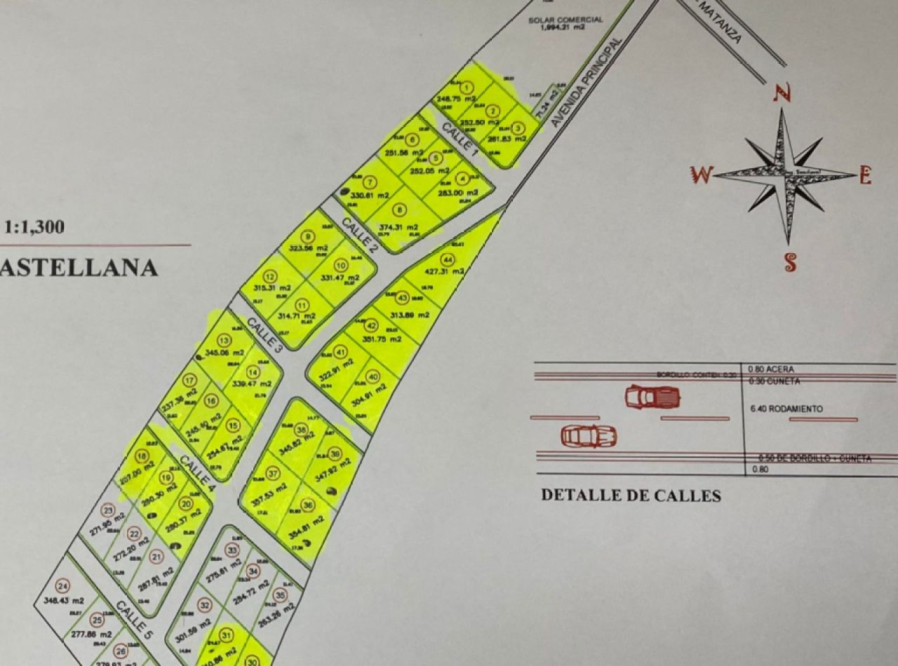 Solares en Venta en Hermosa Urbanización: Castellana, Matanza