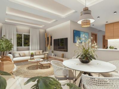 Villas de 1 Nivel con 3 Habitaciones en Complejo Privado con Piscina