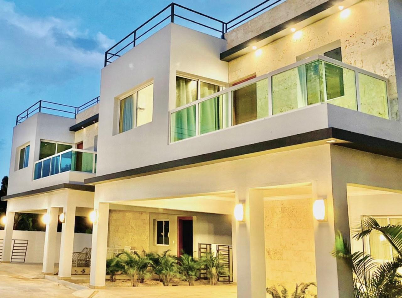 Complejo Privado de Villas Coquetas Próximas a la Playa
