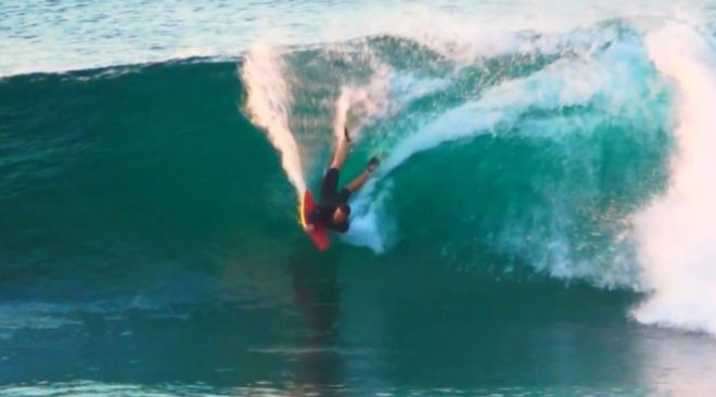 Andre Botha Bodyboarding South Africa 2017