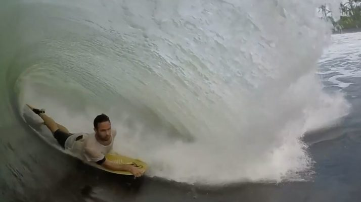 Michael Perry Bodyboarding Bali in Java