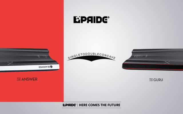 Pride Single to Double Concave Bodyboards for sale