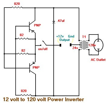 15w inverter circuit 12vdc to 120vac inverter circuit. Black Bedroom Furniture Sets. Home Design Ideas
