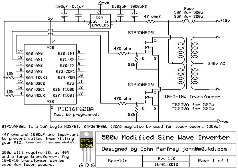 3000w Inverter Wiring Diagram. How An Inverter Works Diagram ...