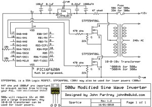 500W Modified Sine Wave Inverter