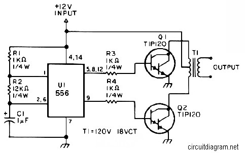 25W Small Inverter Circuit  Inverter Circuit and Products